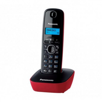 DECT Panasonic KX-TG1611UAR, Red