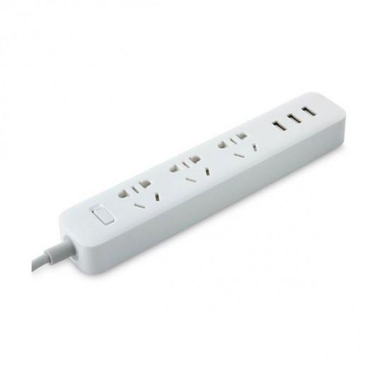 Prelungitor Xiaomi Mi Power Strip 3 USB, White (Filtru de re?ea)