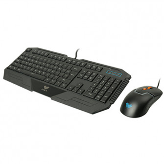 AULA Gaming Set Black Altar Keyboard & Rigel Mouse