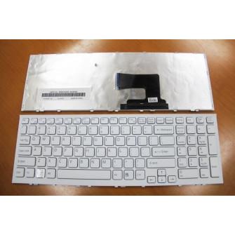 Keyboard Sony SVE15 SVE17 w/frame ENG/RU White