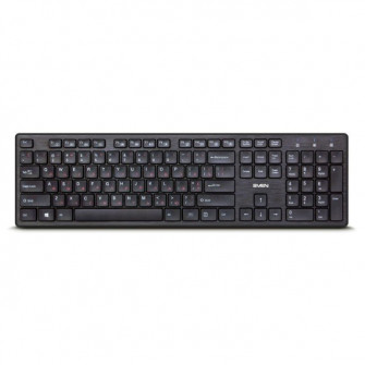 SVEN KB-E5800W, Wireless Keyboard, 104 keys,12 Fn-keys