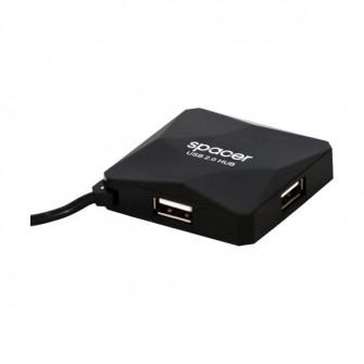 USB Hub Spacer SPH-316, Black