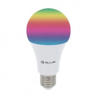 Bec LED Smart Wi-Fi TELLUR E27 RGB, Reglabil