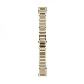 Curea Garmin fenix 5s QuickFit (010-12491-17), Goldtone
