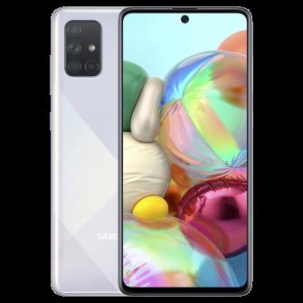 Samsung Galaxy A71 (A715) Dual Sim 6GB RAM 128GB, Silve