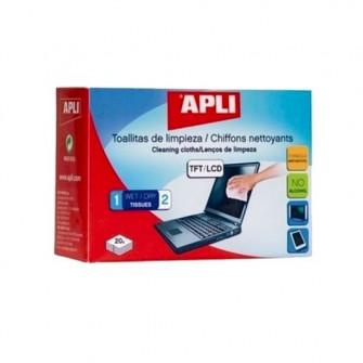 Servetele de curatat TFT/LCD APLI AL11325, 20 bucati