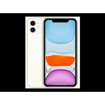 Apple iPhone 11, 64 GB, Alb, slot dual Dual Sim 2xNanoS
