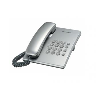 Telefon cu fir Panasonic KX-TS2350UAS, Argint
