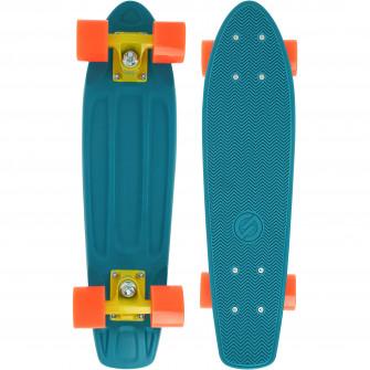 Cruiser Skateboard Yamba Albastru/ Corai