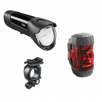 SET lumini bicicleta Fyre + IXXI 30 LUX