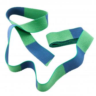 Centura Judo 2.50m Verde/ Albastru