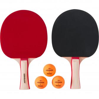 Set 2 palete tenis de masa FR 130 / PPR 130 + 3 Mingi T