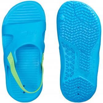 Papuci Inot cu elastic Albastru/Verde Copii
