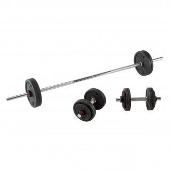 Set haltere si Bare Bodybuilding 50 kg