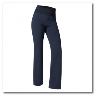 Pantalon Yoga Usoara Bumbac Biologic Bleumarin Dama