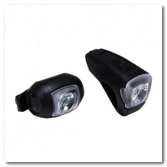 Set Lumini Fata/ Spate ST 520 USB Negru