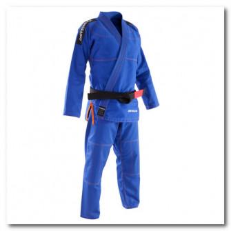 Kimono jiu-jitsu brazilian 500 Albastru Adulti