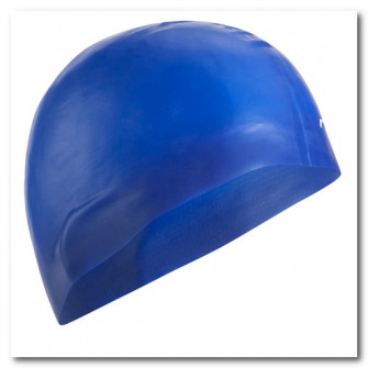 Casca de Inot Silicon 500 Albastru