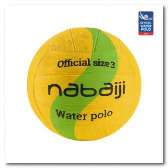 Minge Water Polo 500 Marimea 3 Galben/ Verde