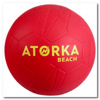 Minge handbal pe plaja HB500B marimea 2 Rosu