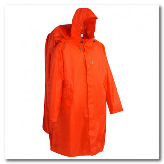 Poncho de ploaie FORCLAZ Marimea L/XL Rosu