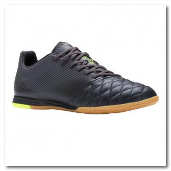 Ghete din piele Futsal Agility 700 Negru
