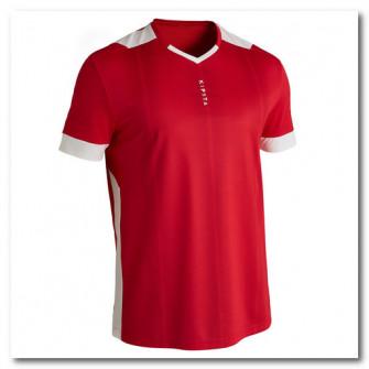 Tricou Fotbal Kipsta F500 Rosu Adulti