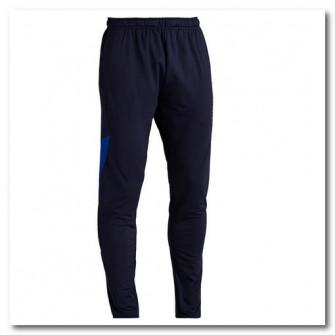 Pantalon Fotbal T500 Albastru Adulti