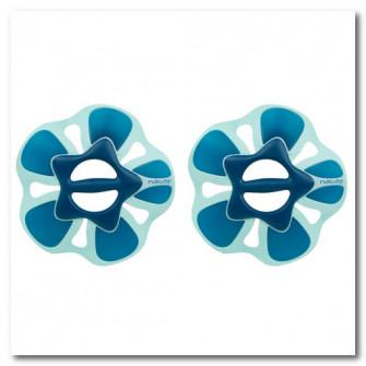 Set gantere Pullpush L Aquagym/Aquafitness Albastru