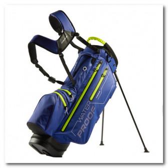 Carucior golf impermeabil Albastru/Galben