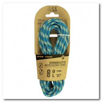Cordelina 6 mmx 5,5 m Albastru