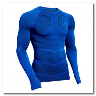 Bluza fotbal Keepdry 500 Albastru/ Mov Adulti