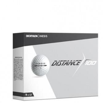 Mingi Golf DISTANCE 100 X12 Alb
