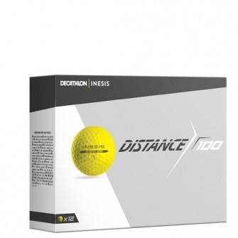 Minge Golf DISTANCE 100 X12 Galben