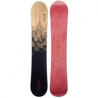 Snowboard partie & All Mountain SNB 100 Negru/ Rosu/ Im