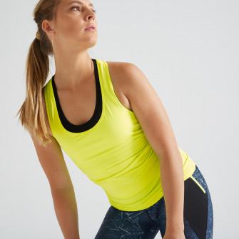 Maiou Fitness Cardio My Top 100 Galben Fluorescent Dama