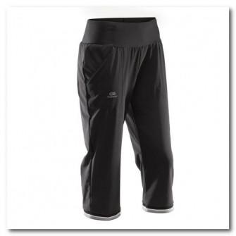 Pantalon 3/4 Jogging Run Dry Negru Dama
