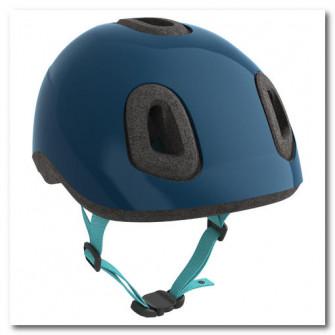 Casca ciclism 500 Albastru Copii