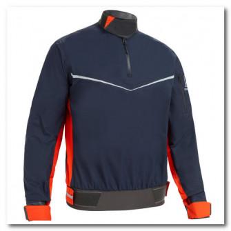 Jacheta Protectie Vant Dinghy 500 Portocaliu/Albastru B
