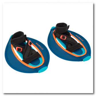 Set 2 gantere mesh Pullpush Aquagym/Aquafitness Albastr