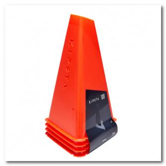 Set de 4 Conuri Essentiel 30cm portocaliu
