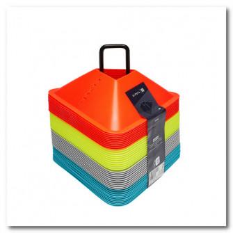Set 40 Conuri Essentiel 4 culori (galben, portocaliu, g