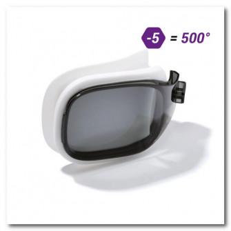 Lentila Corectoare -5 inot Selfit 500 Marimea S Fumurie