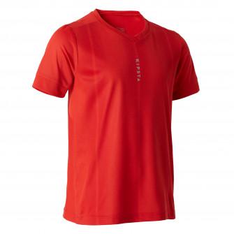 Tricou Fotbal F500 Rosu Copii
