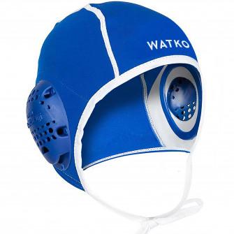 Casca water polo 500 Albastru Adulti