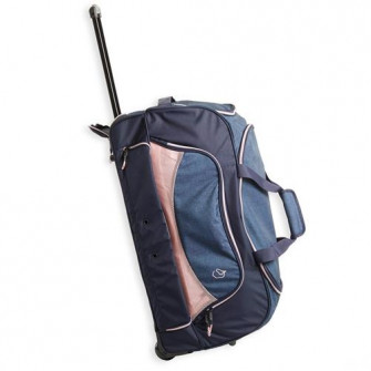 Troller Echitatie Albastru/roz 80L