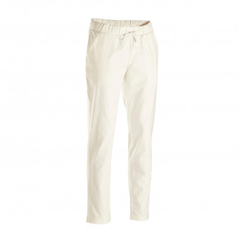 Pantalon Panza Yoga Barbati alb