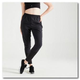 Pantalon Fitness Cardio 100 Negru Dama