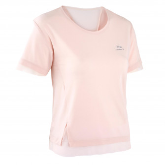 Tricou RUN FEEL JOGGING roz Dama
