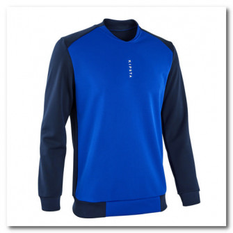 Bluza Fotbal T100 Albastru